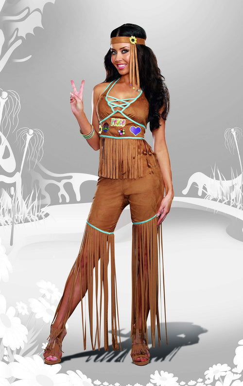 Dreamgirl Costumes Peace Out Indian Costume