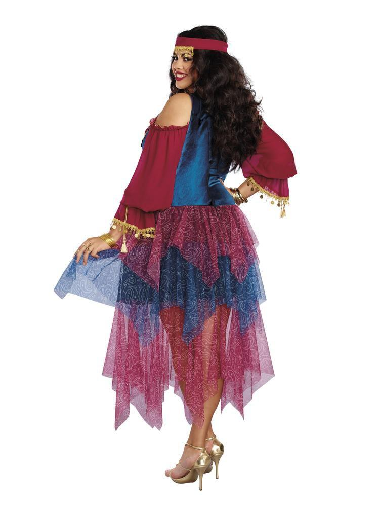 Plus Size Womens Alluring Gypsy Costume- JJ's Party House