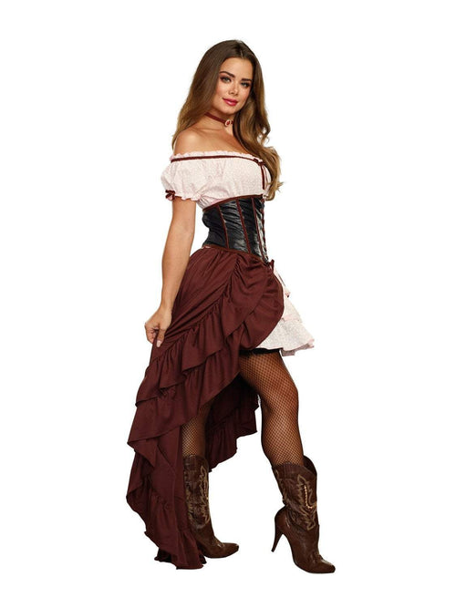 Dreamgirl Costumes Saloon Gal Costume