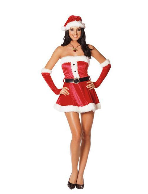 Dreamgirl Costumes Santa's Sweetie Costume