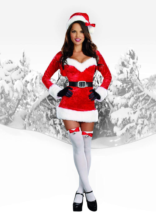 Dreamgirl Costumes Sexy Santa Baby Costume