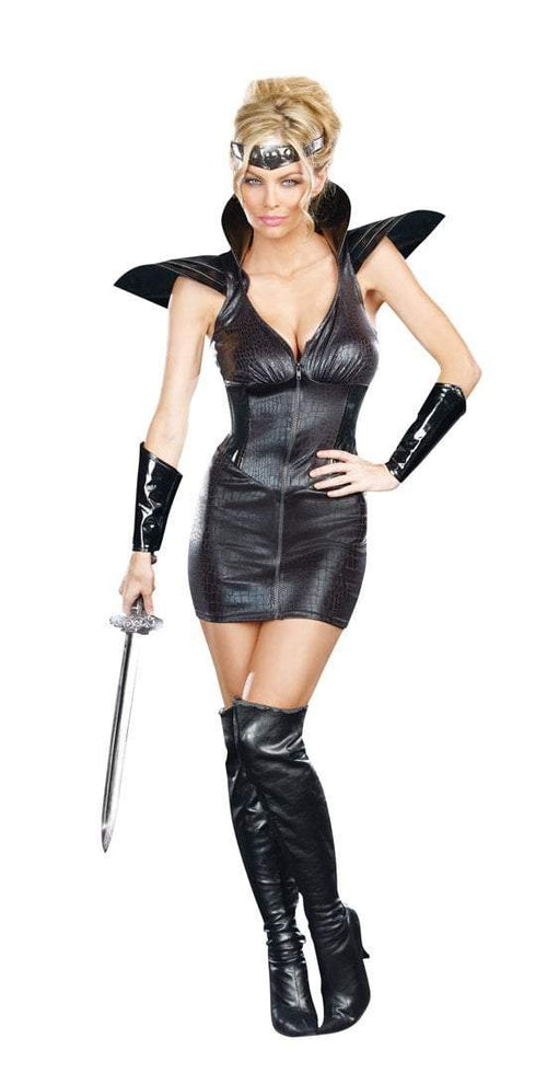 Dreamgirl Costumes Warrior Of Darkness Costume