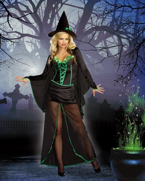 Dreamgirl Costumes Wicked Me Witch Costume