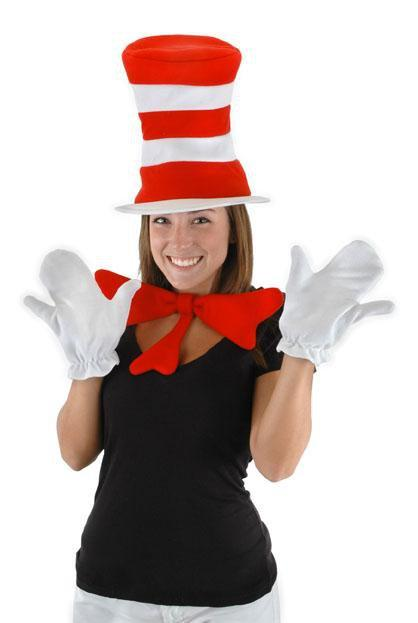 Elope Dr. Seuss Adult Cat in the Hat Accessory Kit - Dr. Seuss