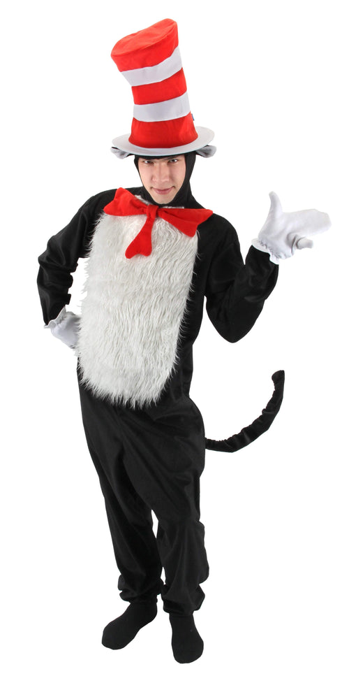 Elope Dr. Seuss Dr. Seuss Cat in the Hat Adult Deluxe Costume (Large/X-Large)