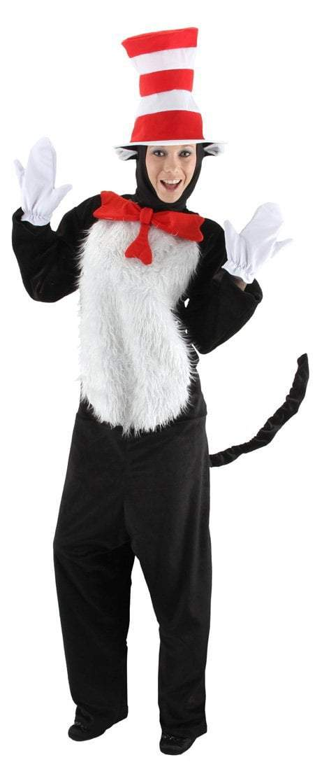 Elope Dr. Seuss Dr. Seuss Cat in the Hat Adult Deluxe Costume (Small/Med)