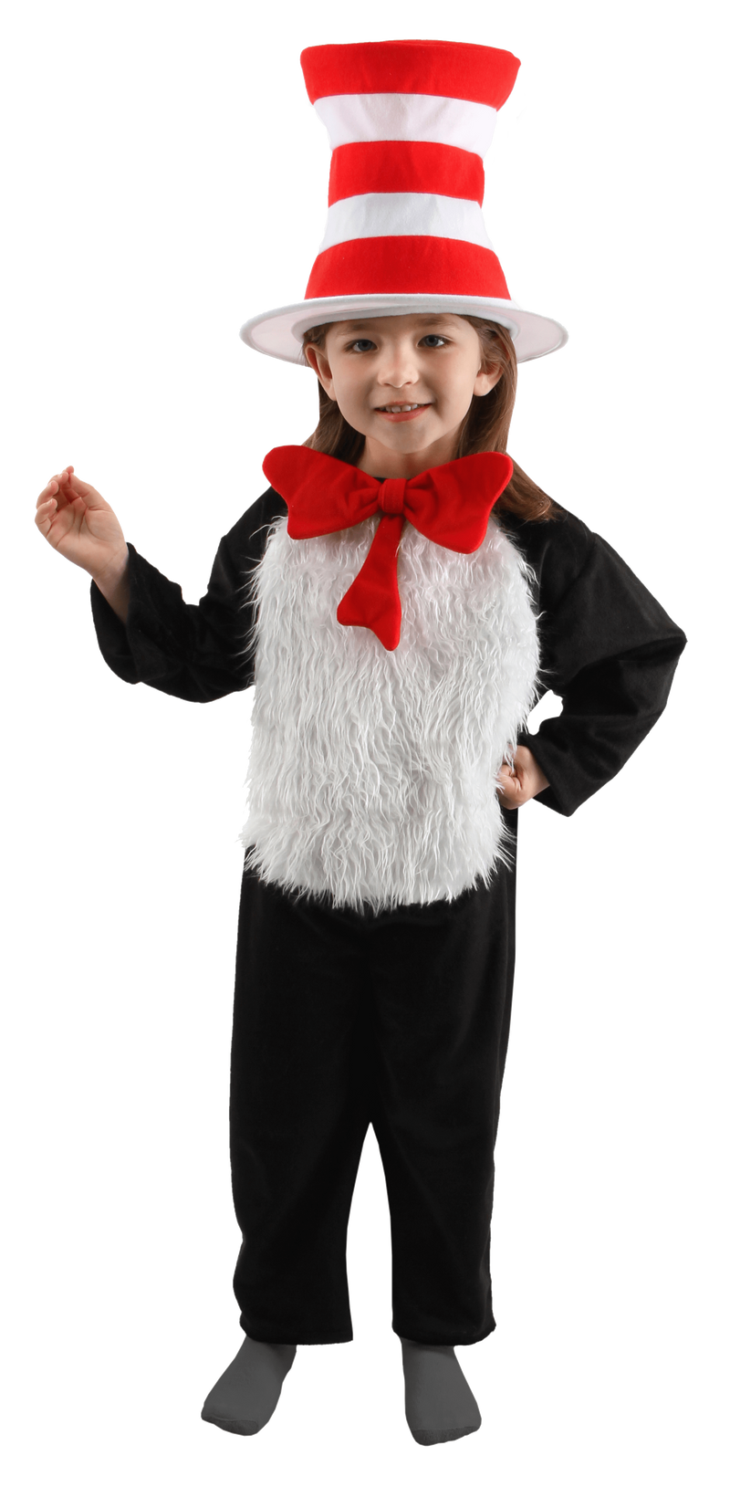 Elope Dr. Seuss Dr. Seuss Cat in the Hat Child Deluxe Costume (4-6)
