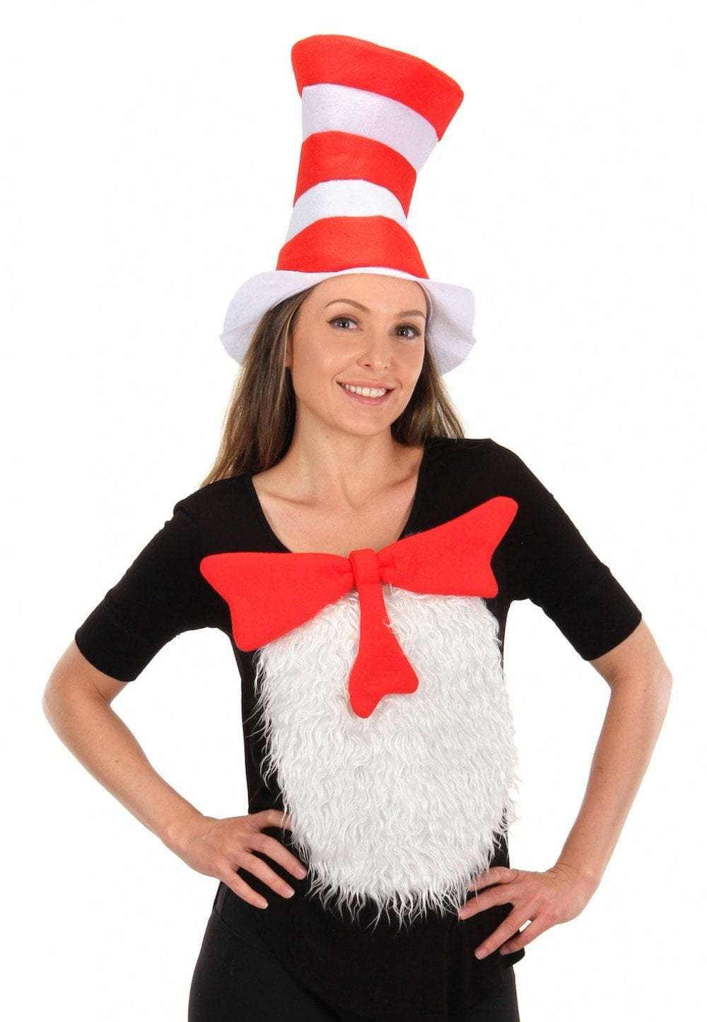 Elope Dr. Seuss Dr. Seuss Cat in the Hat - The Cat in the Hat Unisize Insta-Tux Kit