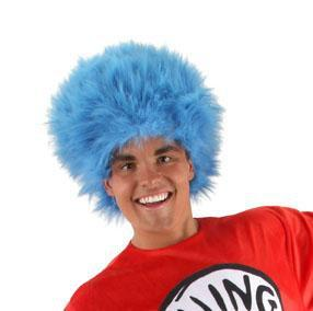 Elope Dr. Seuss Dr. Seuss Thing 1 & Thing 2 Wig