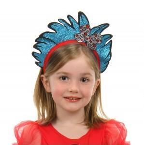 Elope Dr. Seuss Thing 1 & 2 Glitter Headband - Dr. Seuss
