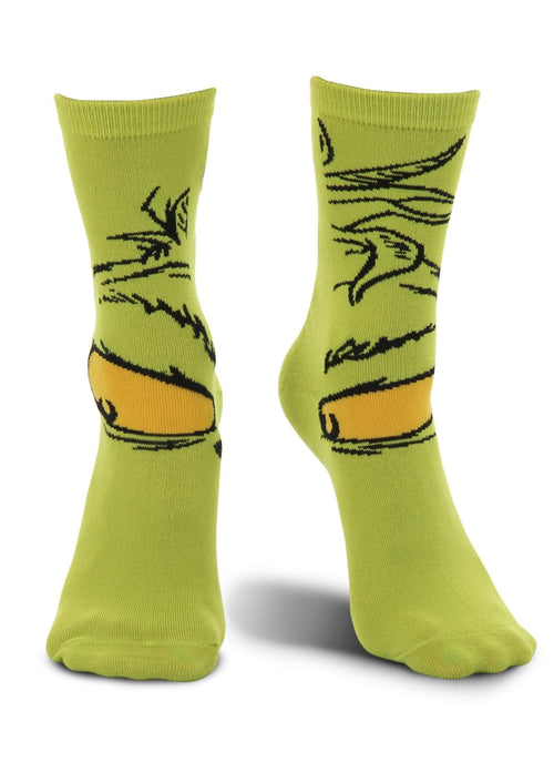 Elope, Inc. Dr. Seuss Dr. Seuss The Grinch Crew Socks