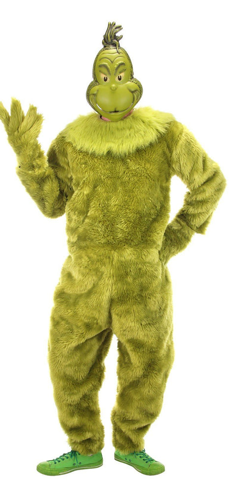 Elope, Inc. Dr. Seuss Dr. Seuss The Grinch Jumpsuit (Small/Medium)