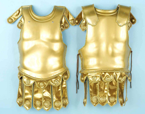 Forum Novelties Costume Accessories Deluxe Gold Roman Chest Plate