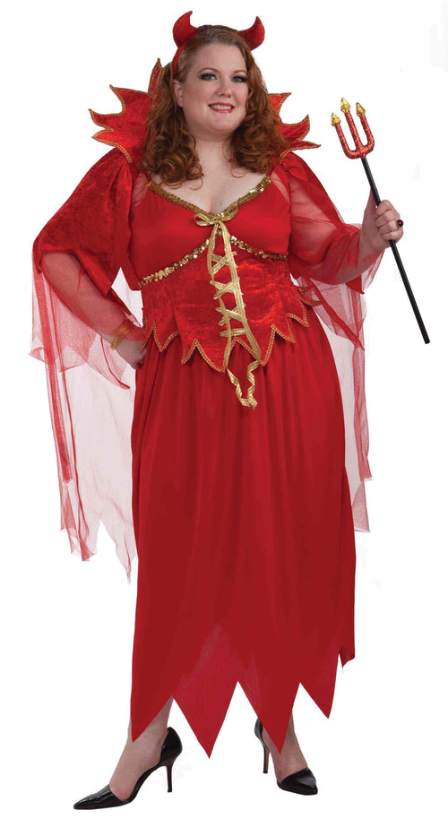 Forum Novelties Costumes Adult Devil Plus Size Costume - 3X