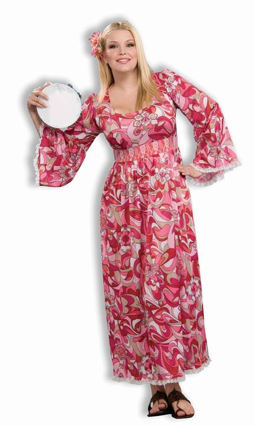 Forum Novelties Costumes Adult Flower Child Plus Size Costume