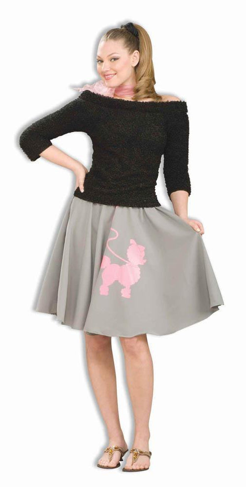 Forum Novelties Costumes Adult Grey Poodle Skirt