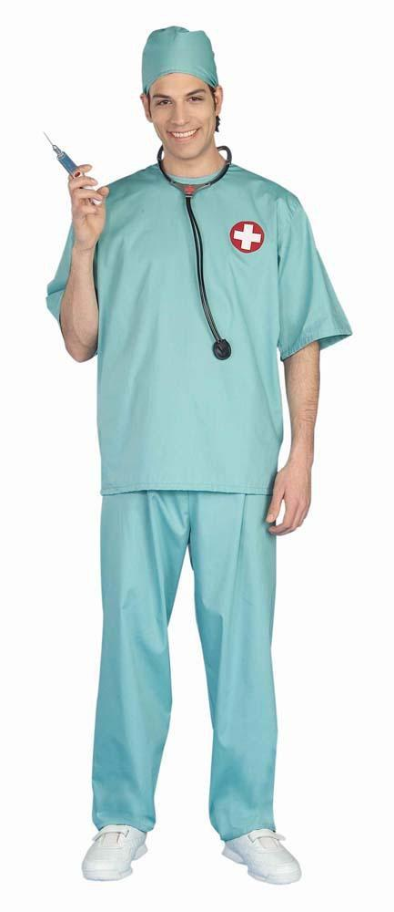 Forum Novelties Costumes Adult Surgical Scrubs Doctor Costume