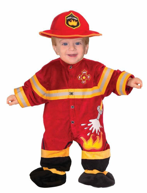 Forum Novelties Costumes Baby Boys I Wannabee Fireman Costume