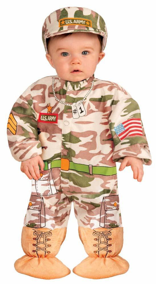 Forum Novelties Costumes Baby Boys I Wannabee Soldier Costume