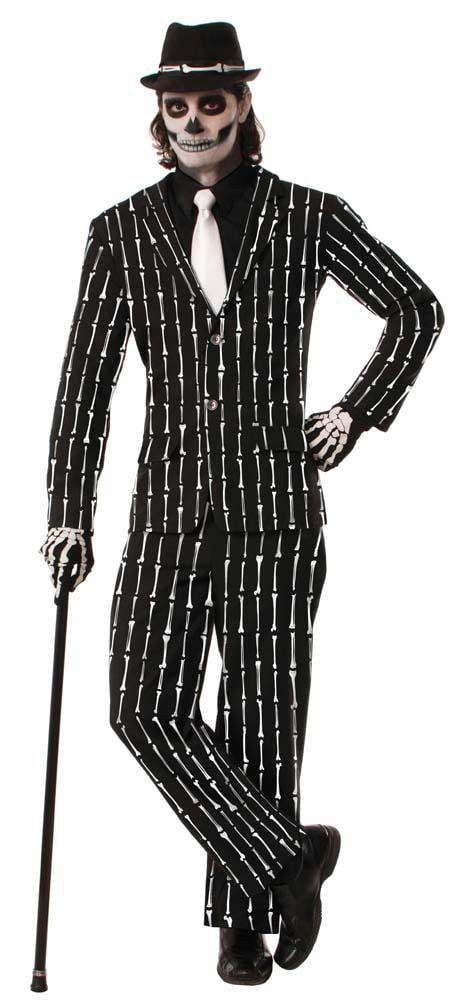 Forum Novelties Costumes Bone Pin Stripe Suit Costume