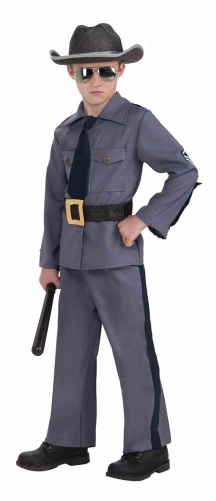 Forum Novelties Costumes Boys State Trooper Costume - Large
