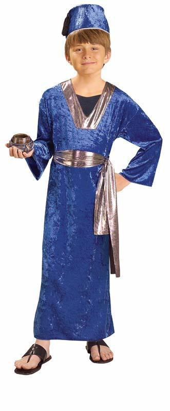 Forum Novelties Costumes LARGE Boys Blue Wise Man Costume