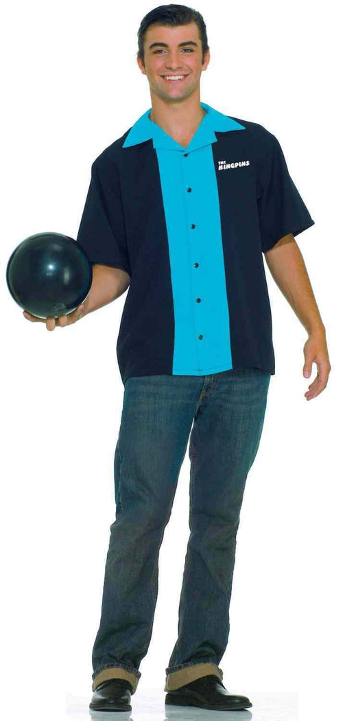 Forum Novelties Costumes Plus Size King Pin Bowling Shirt