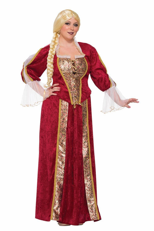 Forum Novelties Costumes Renaissance Queen Plus Size Costume