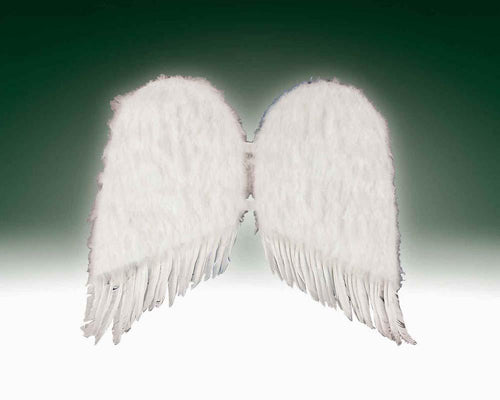"Forum Novelties Staging Feather Wings- 36"" White"