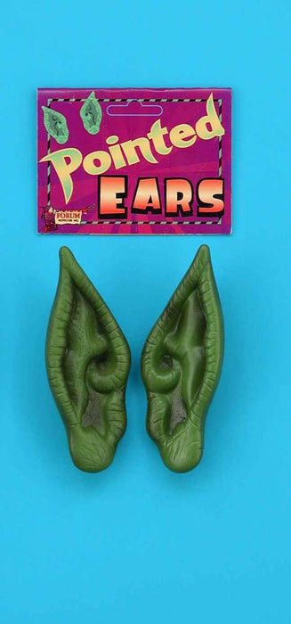 Forum Novelties Staging Pointed Ears-Green