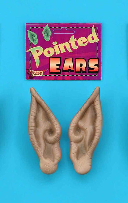 Forum Novelties Staging Pointed Ears-White Flesh