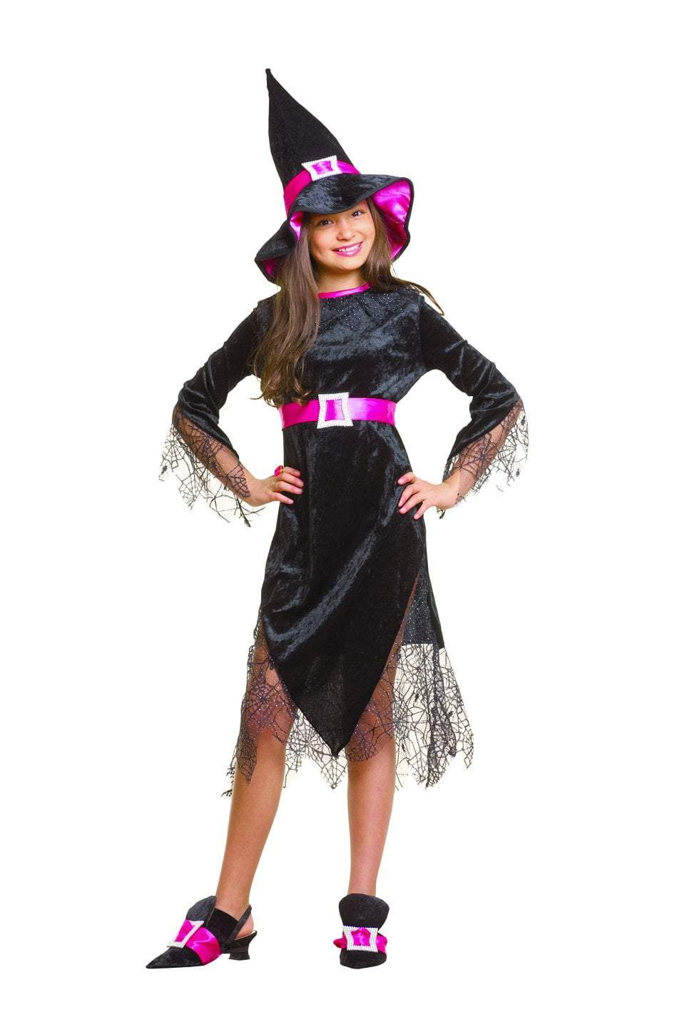 Girls Glam Witch Costume Jj S Party House