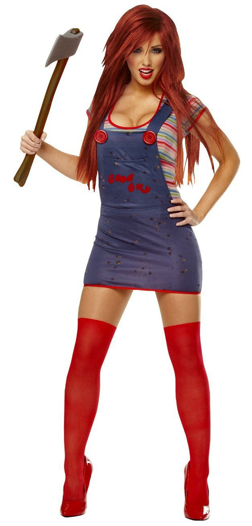 Franco Costumes LARGE Adult Chucky Female Costume