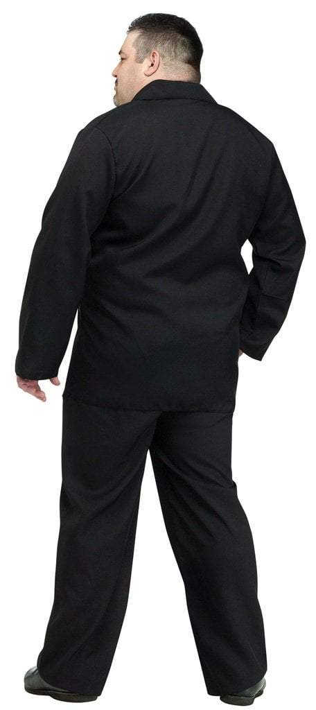 Fun World Costumes Adult Black Suit Plus Size Costume
