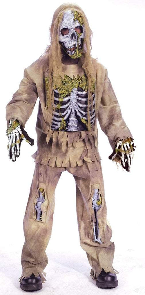 Fun World Costumes COLOR Child Skeleton Zombie Costume