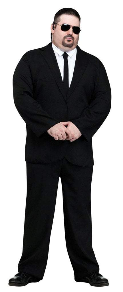 Fun World Costumes PLUS SIZE 6'2/3 Adult Black Suit Plus Size Costume