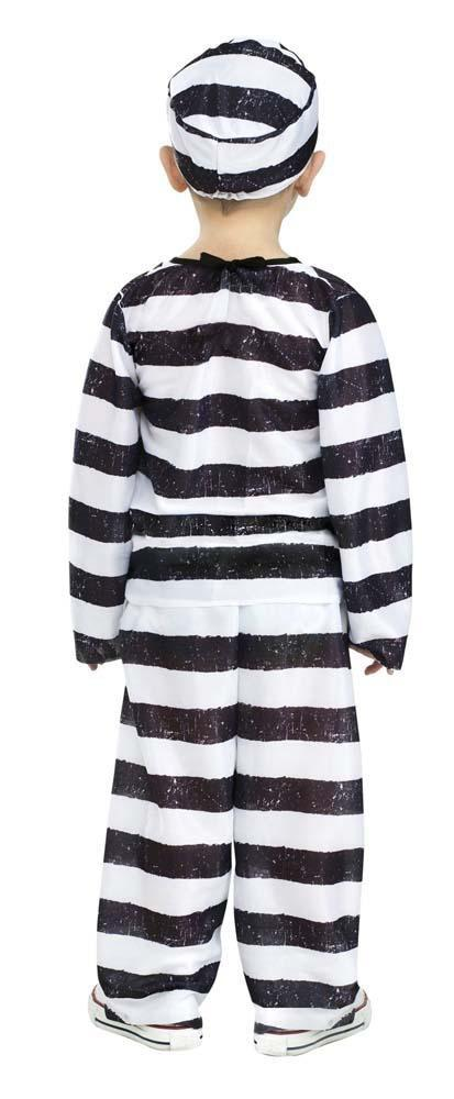 Fun World Costumes Toddler Boys Time Out Prisoner Costume