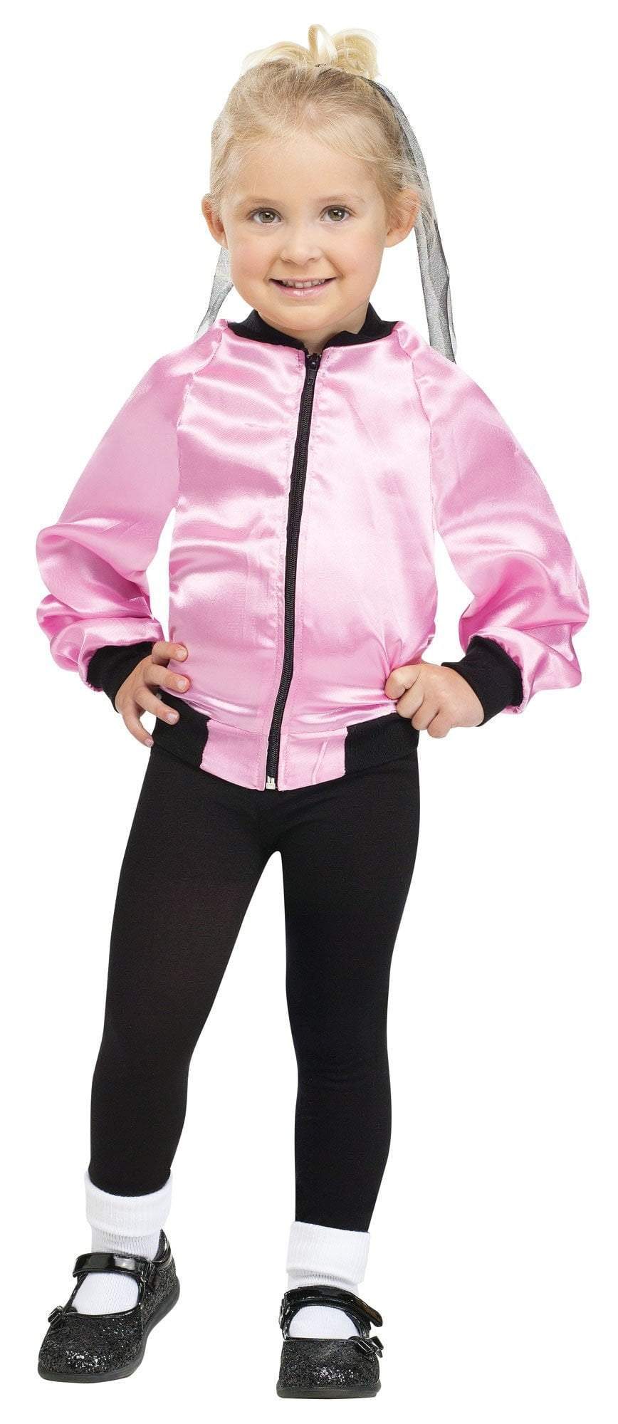 Fun World Costumes Toddler Girls 50s Pink Ladies Jacket
