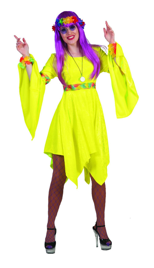 Funny Fashion Costumes Adult Hippy Woman Costume
