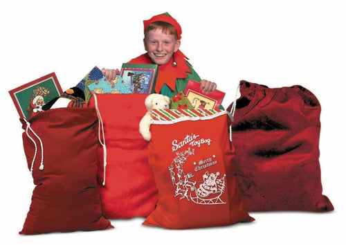 Halco Costume Accessories Red Pile Plush Toy Bag