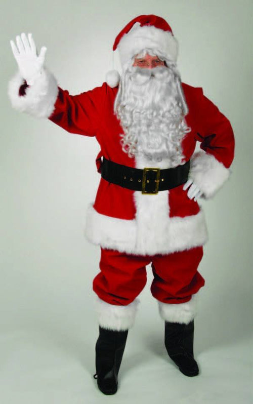 Halco Costumes Regal Red Velvet Santa Suit (Standard Size)