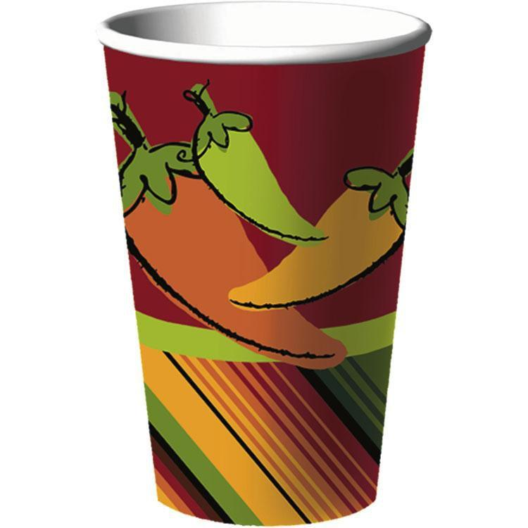 Hallmark by Party Express Staging Fiesta 16oz Hot/Cold Cups