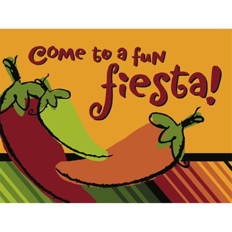Hallmark by Party Express Staging Fiesta Chili Invitations 8ct