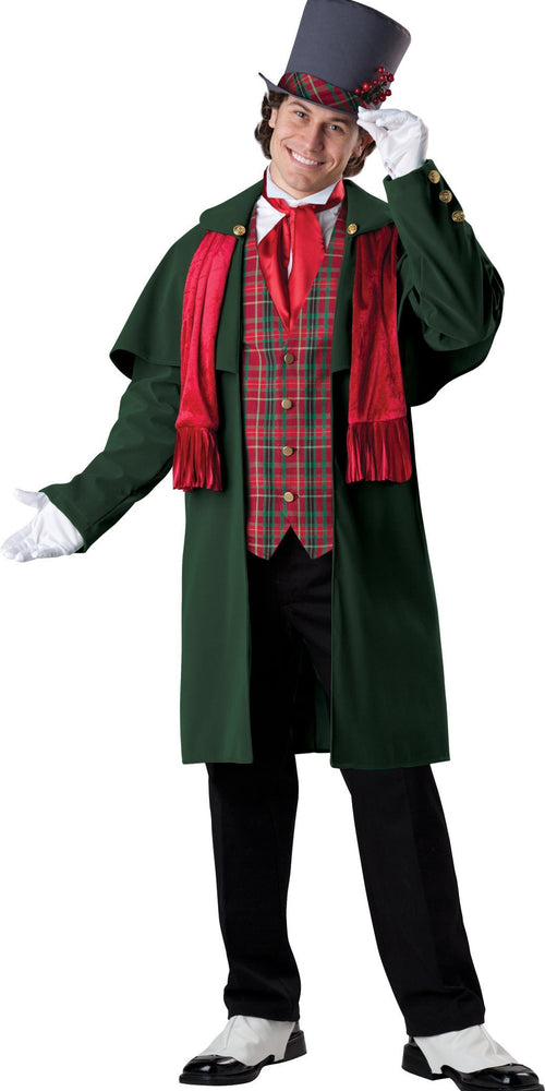 InCharacter Christmas LARGE Adult Yuletide Gent Costume