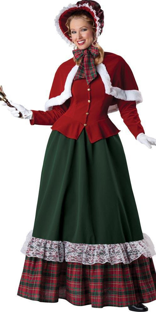 InCharacter Christmas LARGE Yuletide Lady Costume