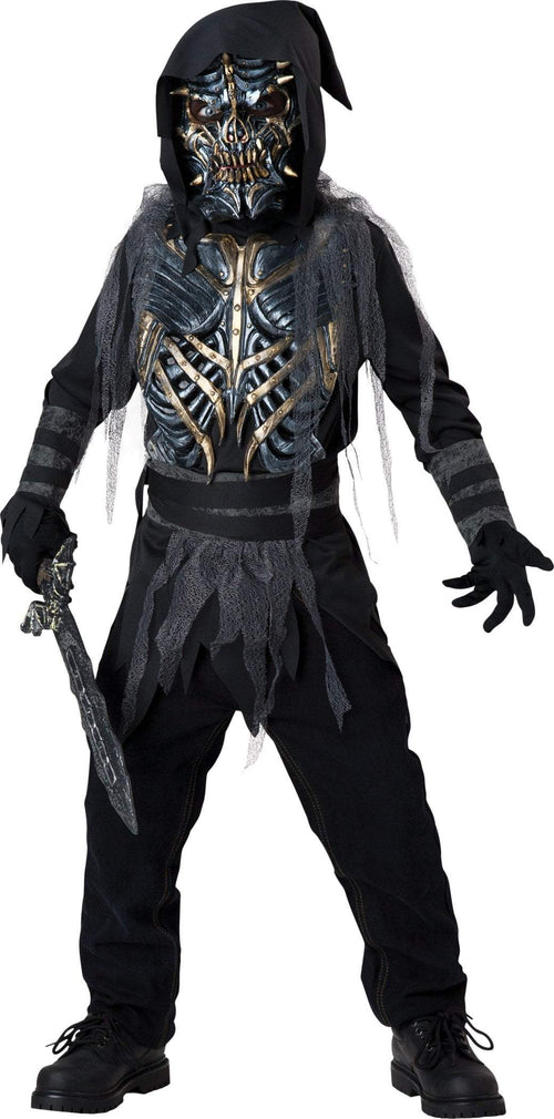 InCharacter Costumes 10 Boys Death Warrior Costume