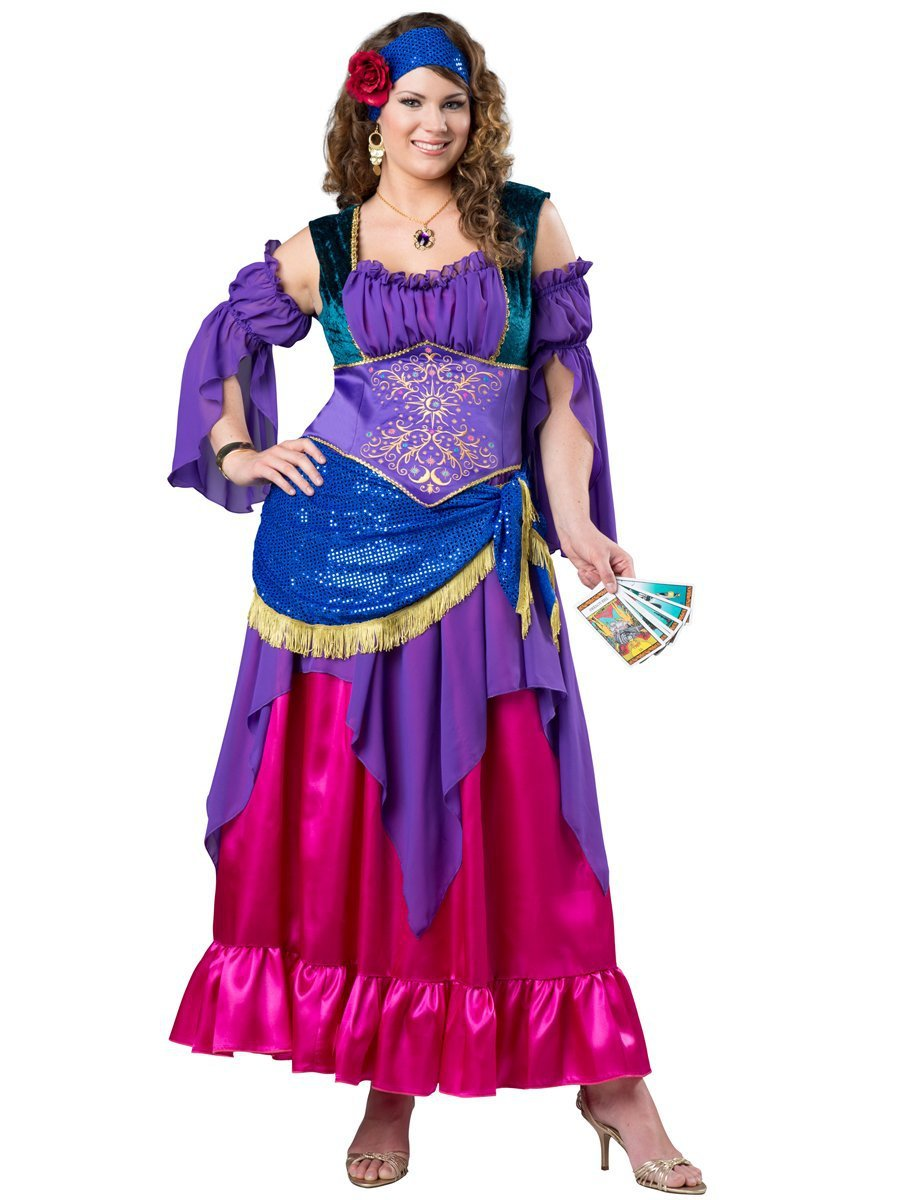 InCharacter Costumes 2XLARGE Deluxe Gypsy Treasure Plus Size Costume