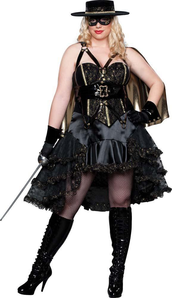 InCharacter Costumes Deluxe Beautiful Bandida Plus Size Costume