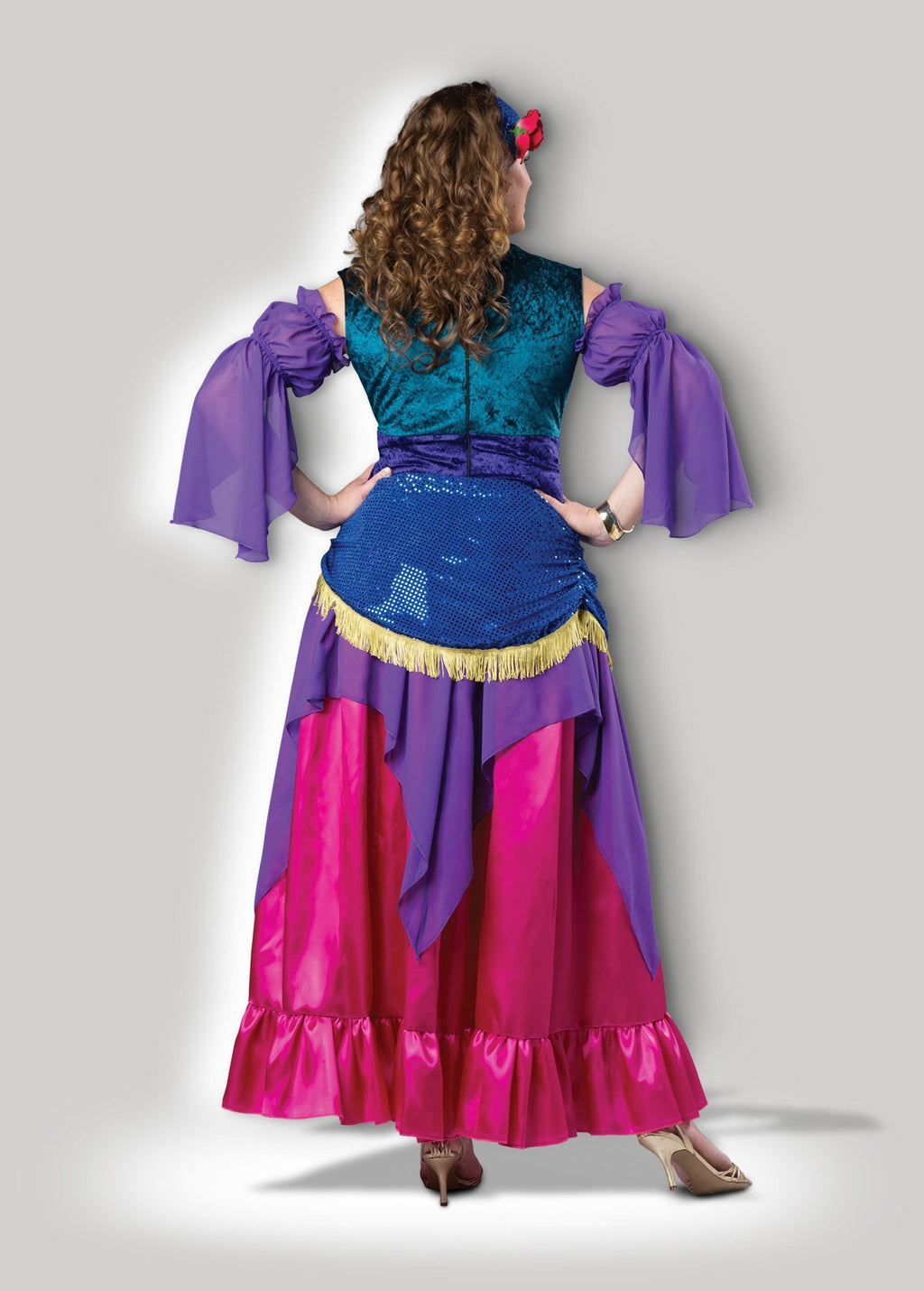 InCharacter Costumes Deluxe Gypsy Treasure Plus Size Costume