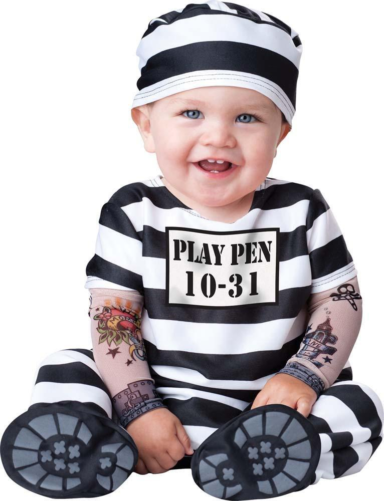 InCharacter Costumes L Baby Boys Time Out Prisoner Costume